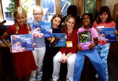 Kristin Joy Pratt-Serafini with Community School students in St. Louis, MO