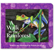 A Walk in the Rainforest (Board book)